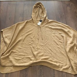 Women's brooks brothers knit poncho